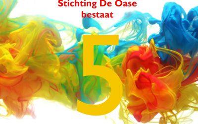 Stichting Oase bestaat 5 jaar